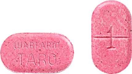 Warfarin Tablet 1 milligram Pink