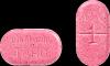 1 milligram warfarin pink