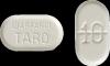 10 milligram warfarin white
