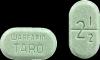 2.5 milligrams warfarin green