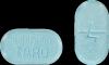 4 milligrams warfarin blue