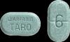 6 milligrams warfarin Teal