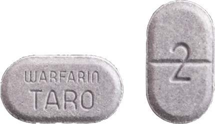 Warfarin Tablet 2 milligrams Lavender