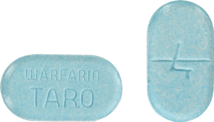 Warfarin Tablet 4 milligrams Blue