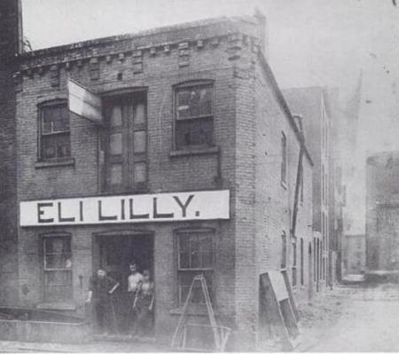 Original Eli Lilly & Co. Building, 1876