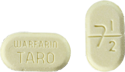 Warfarin Tablet 7.5 milligrams Yellow