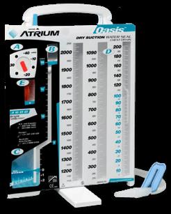 Atrium chest drainage device