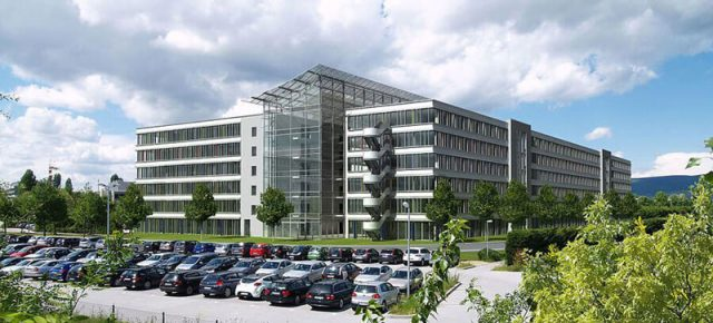 Administrative building of Boehringer Ingelheim