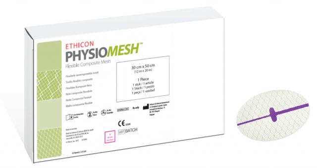 Physiomesh Hernia Mesh Box