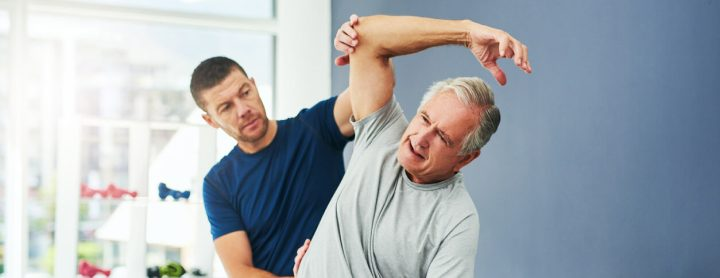 Man getting checked for arthritis