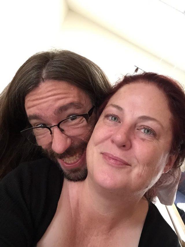 Theresa Sawyer and boyfriend.