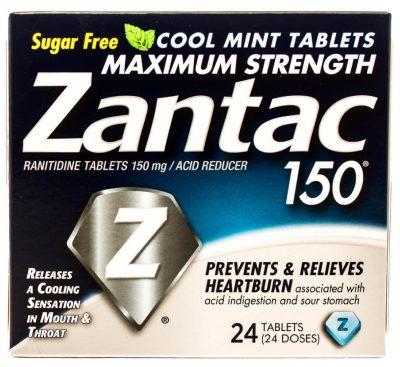 Zantac made with ranitidine