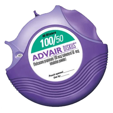 Advair Packaging