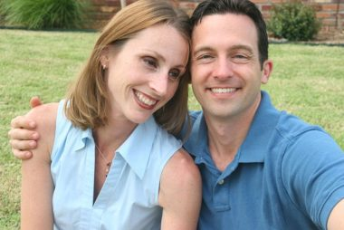 Ami Dodson and her husband