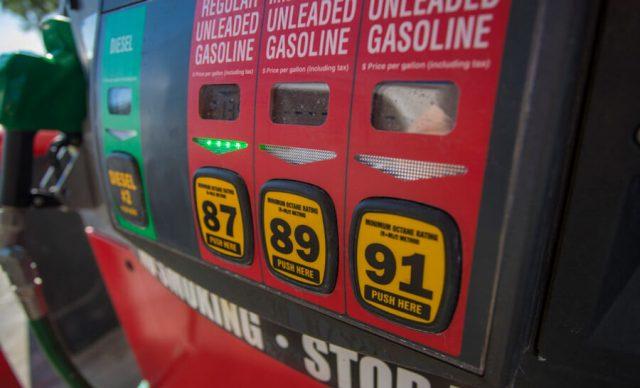 Close-up Image of gas pump