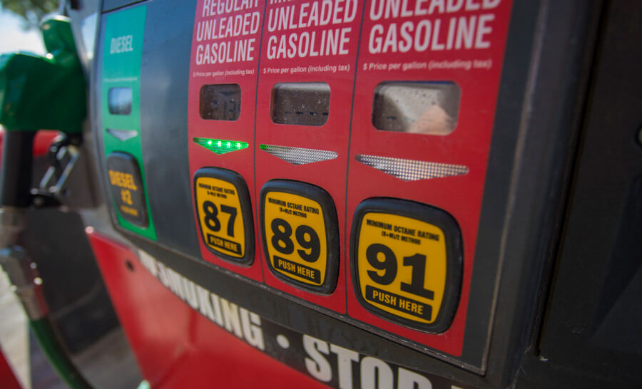 Close-up Image of gas gump