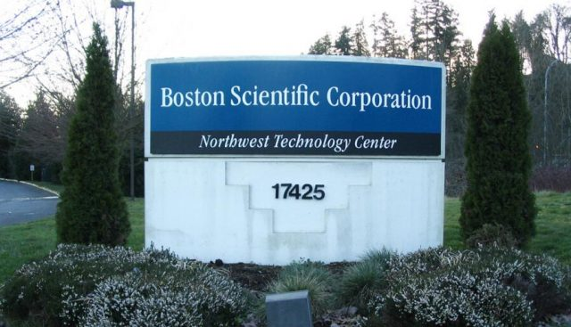 Boston Scientific Sign