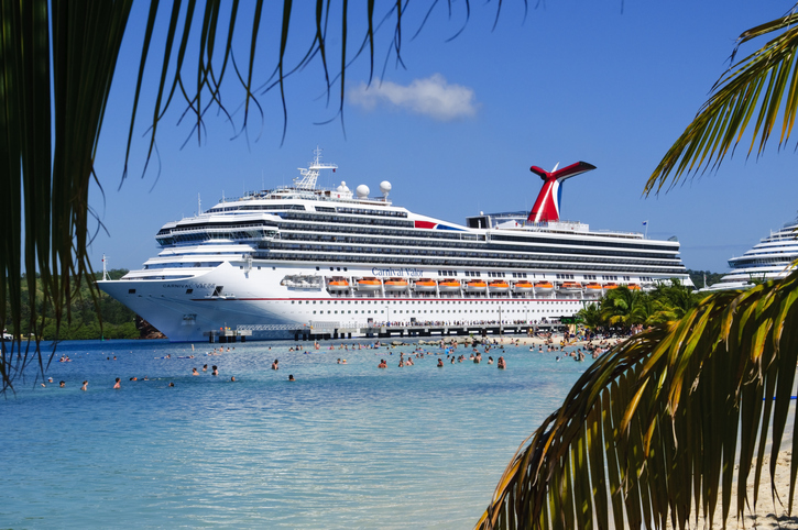 Picture of the M.S. Carnival Valor, owned by Carnival Cruise Lines