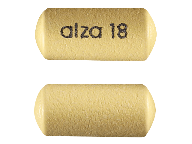 Concerta yellow pills