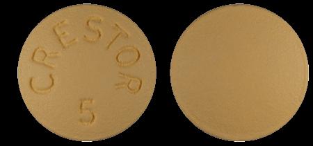 Crestor 5mg Pill