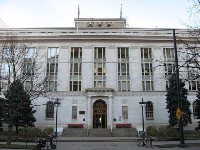 Denver's Federal Court building