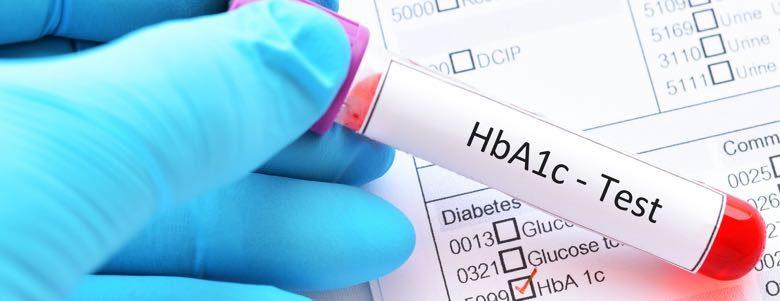 HbA1c blood test