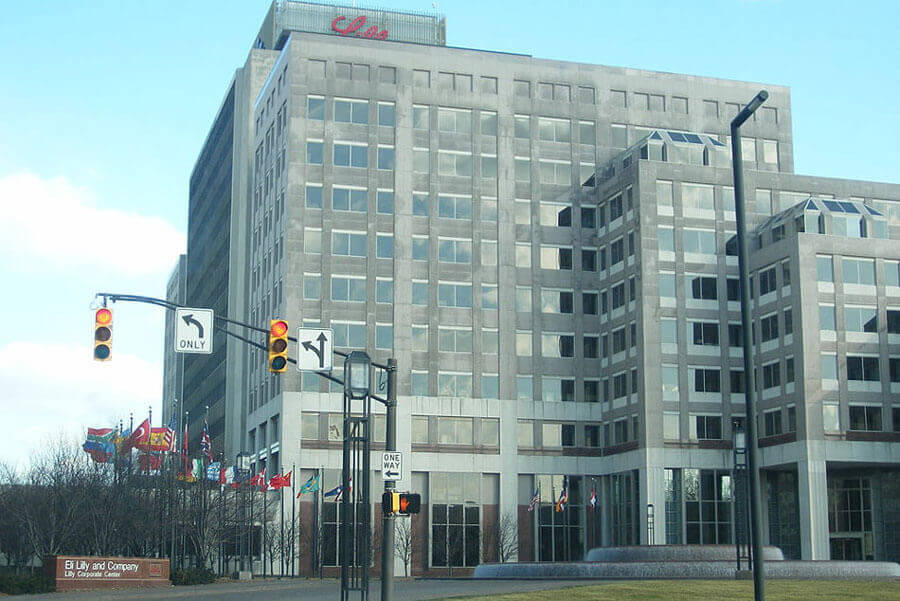 Eli Lilly & Co. Current Headquarters in Indianapolis, IN