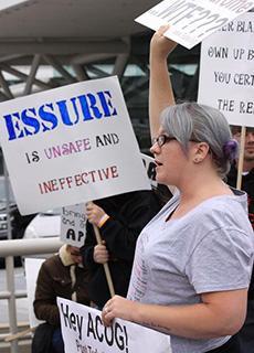Essure Protest