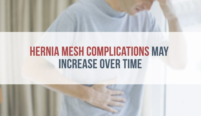 Study Hernia Mesh Complications May Increase Over Time