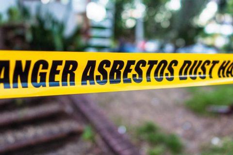 Hazard warning on work site