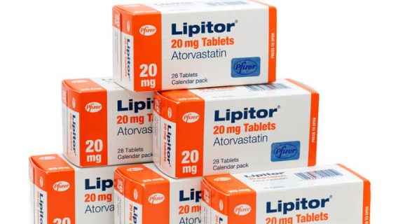 Boxes of Lipitor Pills