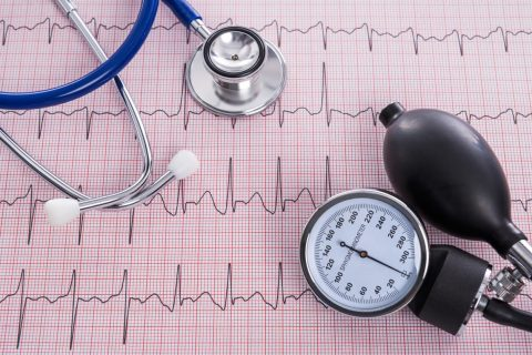 Image of tools used to measure blood pressure