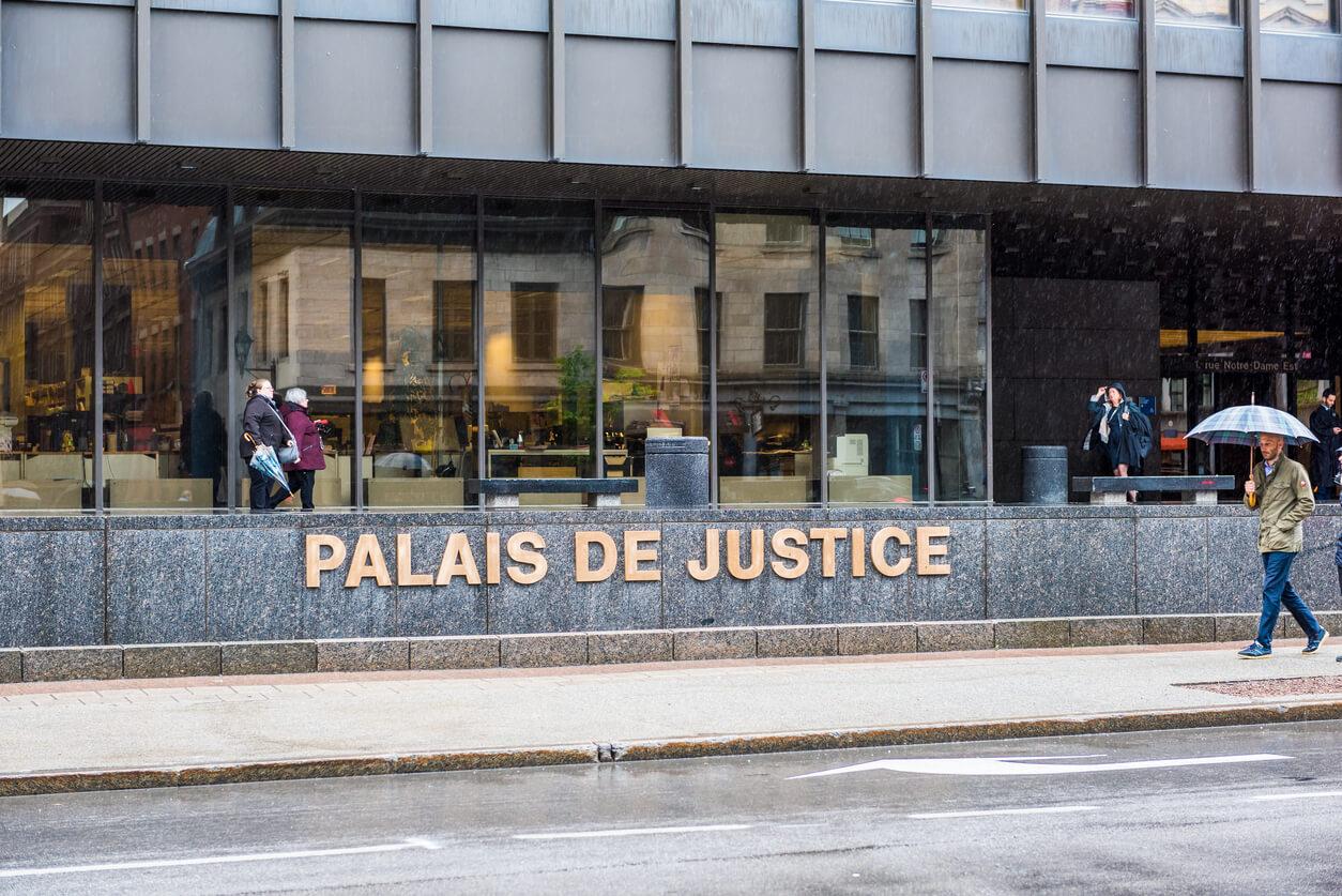 Palais de justice in Quebec, Montreal.