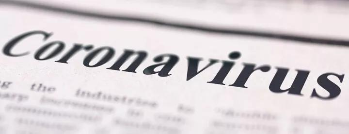 Coronavirus Newspaper Headline