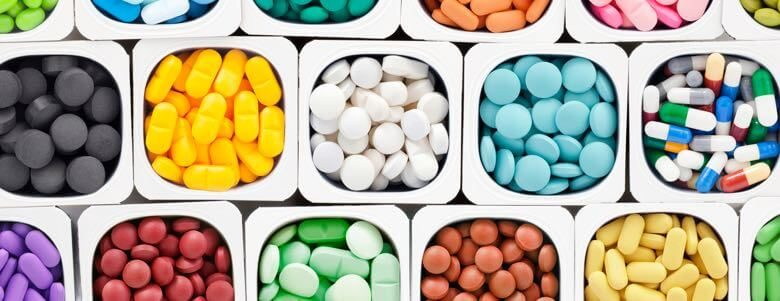 multiple prescription pills