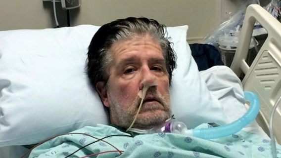 Jerry Conway in hospital after Cipro, Levaquin side effects