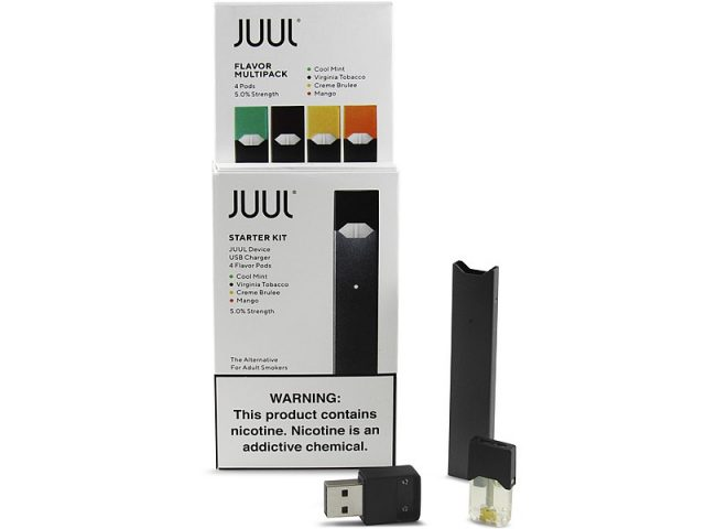 JUUL E-cigs and pods