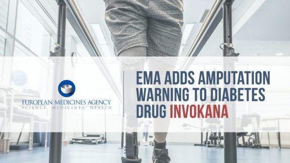 EMA Adds Amputation Warning to Diabetes Drug Invokana