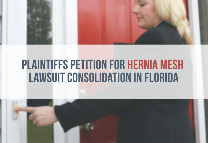 News Hernia Mesh Consolidation