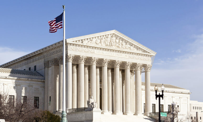 The Supreme Court of the United States in Washington, D C