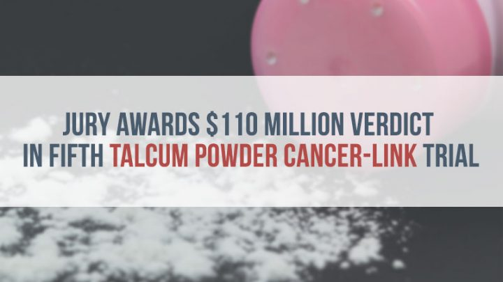 Spilled Container of Talcum Powder