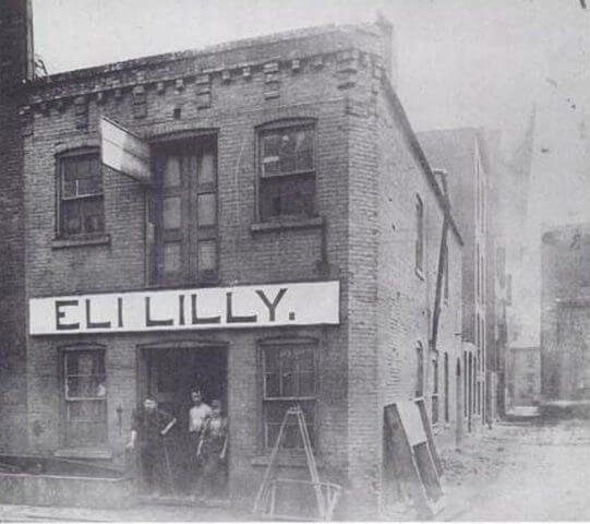 Original Eli Lilly & Co. Building, 1876