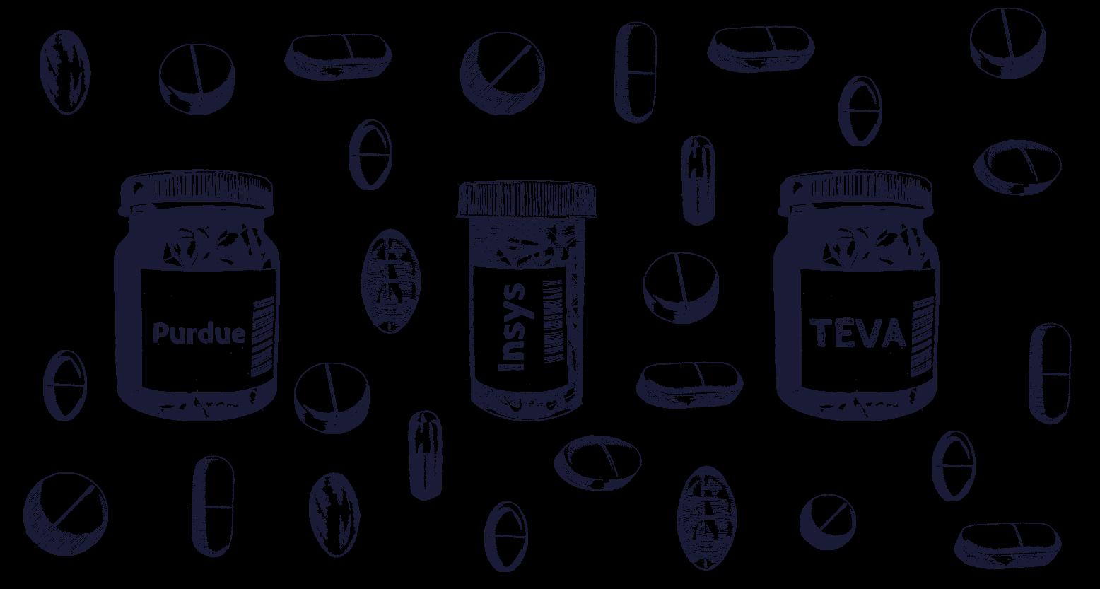Company pill bottle