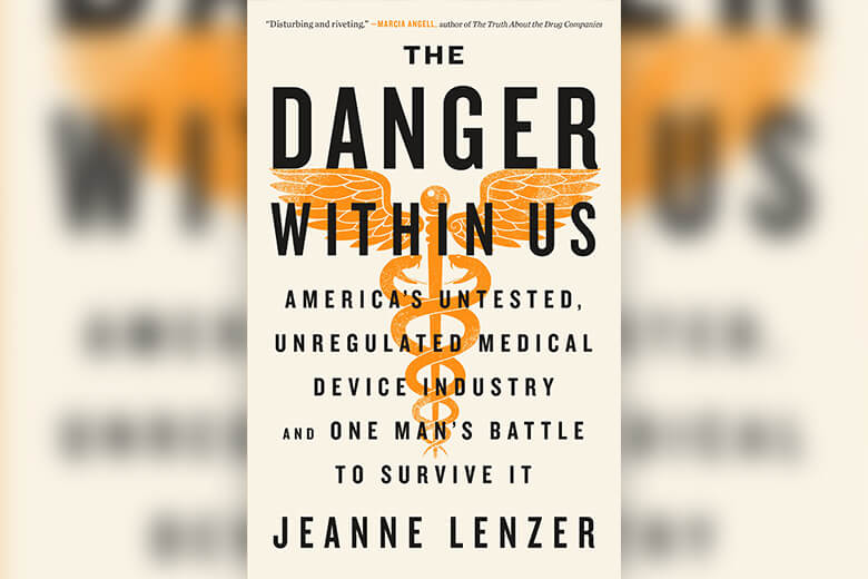 Cover for The Danger Within Us by Jeanne Lenzer