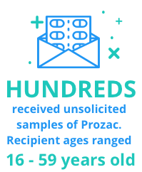 envelope containing medication sample