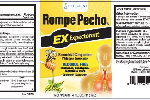 Rompe Pecho EX Label