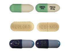 SSRI pills