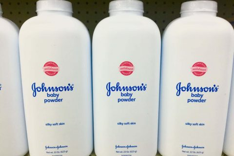 Johnson & Johnson Talcum Powder