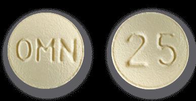 Topamax 25mg pill