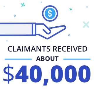 Claimants received $40,000